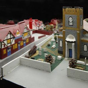 Model of Dagenham Village found in Valence House Museum