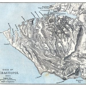 Map of the Siege of Sebastopol