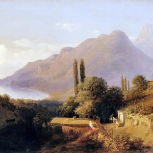 Painting of the Crimean Landscape