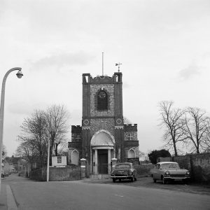 Dagenham Parish Church of Saint Peter and Saint Paul, 1950s