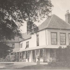 Valence House circa 1918