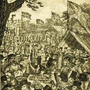 Fairlop Fair Crowds engraving