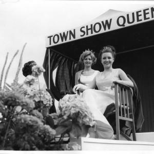 Dagenham Town Show Queen in 1967