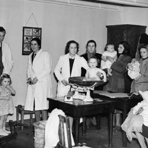 Becontree Avenue Infant Welfare Clinic in 1947