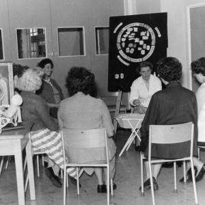 Oxlow Lane Antenatal Clinic in 1957