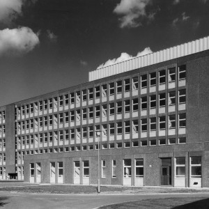 Exterior of Rush Green Hospital Maternity Block in 1968