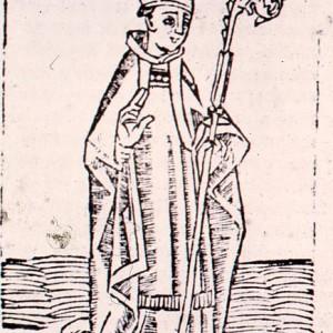 St Erkenwald print