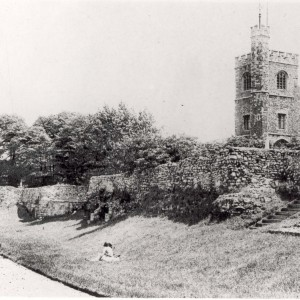 St Margarets Church, Barking in circa 1900