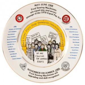 Ford Machinist Strike Commemorative Plate