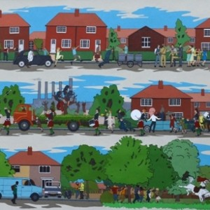 Becontree Mural by Chad McCail