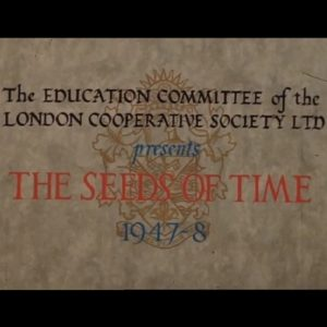 Opening title of the film The Seeds of Time
