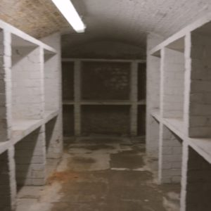 View of Valence House cellar